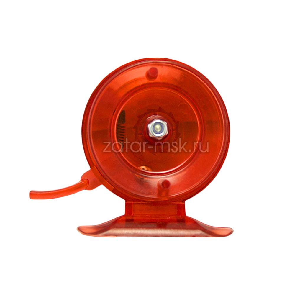 Зимняя катушка Сталкер, проводочная 50 Red С курком