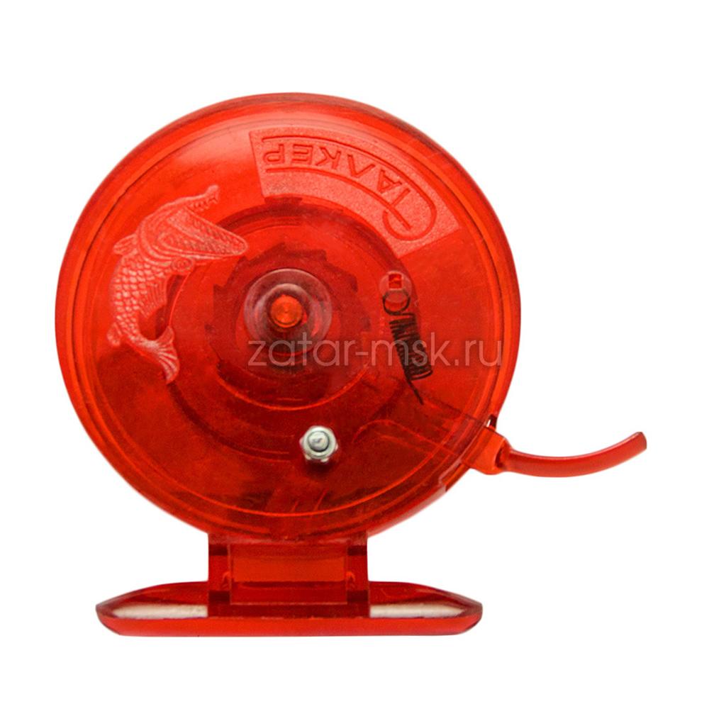 Зимняя катушка Сталкер, проводочная 70 Red С курком